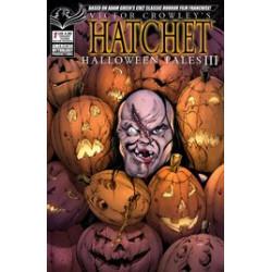 VICTOR CROWLEY HATCHET HALLOWEEN III 1 CVR B JACKS BACK