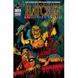 VICTOR CROWLEY HATCHET HALLOWEEN TALES II 1 CVR B CARVED BONK