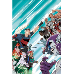 SUPERMAN AND THE AUTHORITY 4 OF 4 CVR A MIKEL JANIN