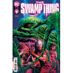 SWAMP THING 7 OF 10 CVR A MIKE PERKINS