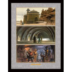 ARRIVAL AT JABBA S PALACE STAR WARS TABLEAU