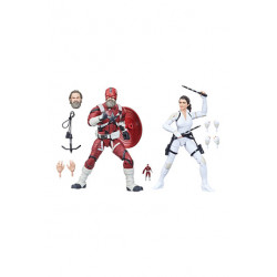 RED GUARDIAN AND MELINA BLACK WIDOW MARVEL LEGENDS PACK 2 FIGURINES 202115 CM