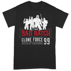 THE BAD BATCH CLONE FORCE 99 TAILLE S STAR WARS