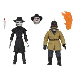 PUPPET MASTER BLADE & TORCH ULTIMATE 4IN 2PACK ACTION FIGURE