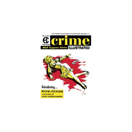 EC ARCHIVES CRIME ILLUSTRATED HC