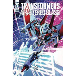 TRANSFORMERS SHATTERED GLASS 3 CVR B OSSIO