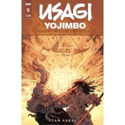 USAGI YOJIMBO DRAGON BELLOW CONSPIRACY 5