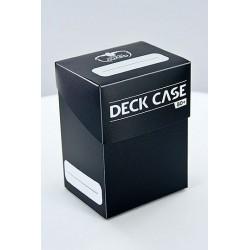 DECK CASE 80DOUBLE SLEEVED CARD STANDARD BLACK CASE