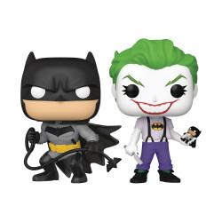 BATMAN AND JOKER PACK 2 FIGURINES SDCC 2021 POP DC BATMAN WHITE KNIGHT