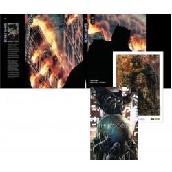 PACK DEDICACE : LEE BERMEJO - BATMAN THE WORLD + EX LIBRIS EXCLUSIF + JAQUETTE EXCLUSIVE BATMAN DAMNED