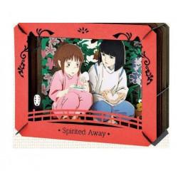 RICEBALL FROM HAKU LE VOYAGE DE CHIHIRO PAPER MODEL KIT PAPER THEATER