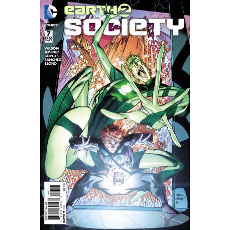 EARTH 2 SOCIETY - ISSUE 7