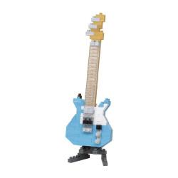 ELECTRIC GUITAR PASTEL BLUE NANOBLOCK