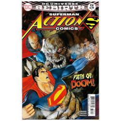 DC REBIRTH ACTION COMICS 958 2ND PTG
