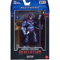 REVELATION SKELETOR CLASSIC MASTERS OF THE UNIVERSE MASTERVERSE ACTION FIGURE 17 CM