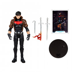 RED HOOD UNMASKED GOLD LABEL THE NEW 52 DC MULTIVERSE FIGURINE 18 CM