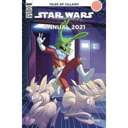 STAR WARS ADVENTURES ANNUAL 2021 CVR A FLOREAN