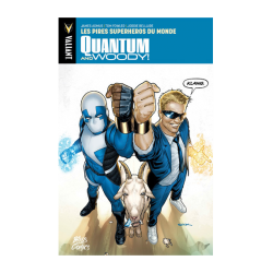 QUANTUM & WOODY T01 LES PIRES SUPER-HEROS DU MONDE