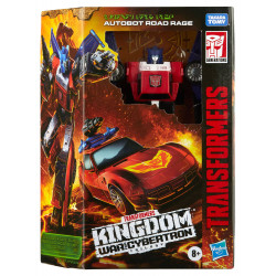 AUTOBOT ROAD RAGE TRANSFORMERS GENERATIONS WAR FOR CYBERTRON KINGDOM FIGURINE DELUXE CLASS 14 CM