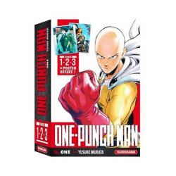 COFFRET ONE-PUNCH MAN T01 A T03 + POSTER
