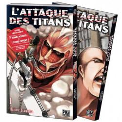 L'ATTAQUE DES TITANS PACK OFFRE DECOUVERTE T01 ET T02
