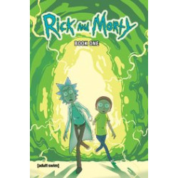 RICK AND MORTY HC BOOK 1 DLX ED