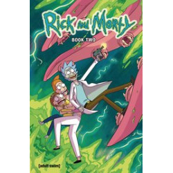 RICK AND MORTY HC BOOK 2 DLX ED