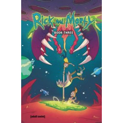 RICK AND MORTY HC BOOK 3 DLX ED