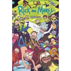 RICK AND MORTY HC BOOK 4 DLX ED
