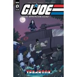 GI JOE A REAL AMERICAN HERO YEARBOOK 4