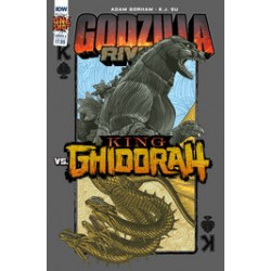 GODZILLA RIVALS VS KING GHIDORAH ONESHOT 1 CVR A SU