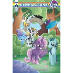 MY LITTLE PONY GENERATIONS 3 CVR B GARBOWSKA