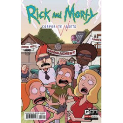 RICK AND MORTY CORPORATE ASSESTS 2 CVR A WILLIAMS