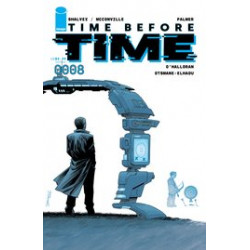 TIME BEFORE TIME 8 CVR A SHALVEY