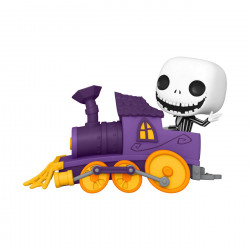JACK IN TRAIN ENGINE L ETRANGE NOEL DE MR. JACK POP DISNEY TRAIN ENGINE VINYL FIGURINE 9 CM