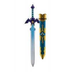 LEGEND OF ZELDA SKYWARD SWORD REPLIQUE PLASTIQUE EPEE LINKS MASTER SWORD 66 CM