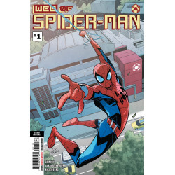 WEB OF SPIDER-MAN 1 2ND PRINT