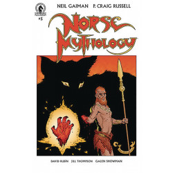 NEIL GAIMAN NORSE MYTHOLOGY 5 CVR A RUSSELL