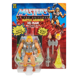 HE-MAN MASTERS OF THE UNIVERSE DELUXE 2021 FIGURINE 14 CM