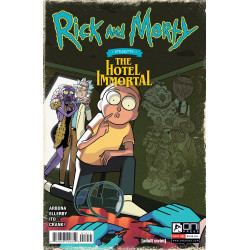 RICK AND MORTY PRESENTS HOTEL IMMORTAL 1 CVR A ELLERBY (MR)