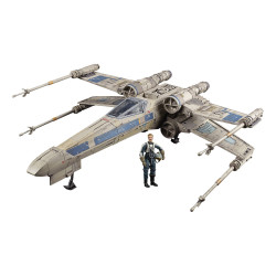 ANTOC MERRICK S X-WING FIGHTER STAR WARS ROGUE ONE THE VINTAGE COLLECTION VEHICULE AVEC FIGURINE