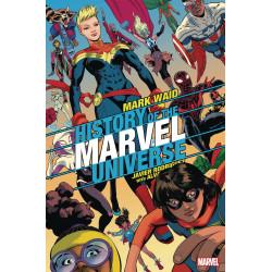 HISTORY OF MARVEL UNIVERSE 6 (OF 6) RODRIGUEZ VAR