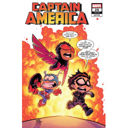 CAPTAIN AMERICA 25 YOUNG VAR