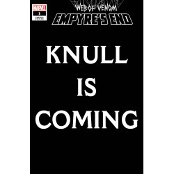 WEB OF VENOM EMPYRES END 1 KNULL IS COMING VAR