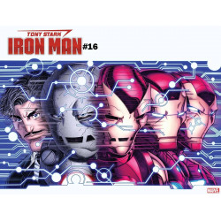 TONY STARK IRON MAN 16 BRADSHAW IMMORTAL WRPAD VAR