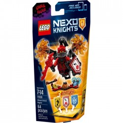 ULTIMATE GENERAL MAGMAR LEGO NEXO KNIGHTS BLISTER