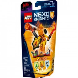 ULTIMATE FLAMA LEGO NEXO KNIGHTS BLISTER