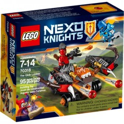 THE GLOB LOBBER LEGO NEXO KNIGHTS BOX