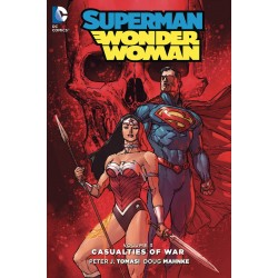 SUPERMAN WONDER WOMAN VOL.3 CASUALTIES OF WAR SC