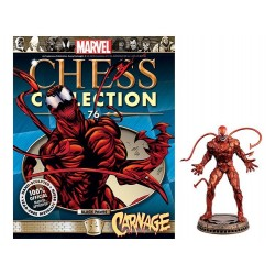 CARNAGE MARVEL CHESS COLLECTION NUMERO 76